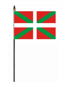 Basque Country Hand Flag - Small.